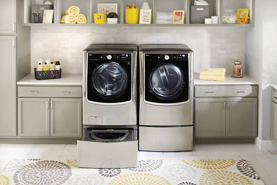 Smart Appliances Washer and Dryer Laundry